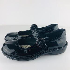 Born Black Patent Leather Mary Jane Comfort Shoes